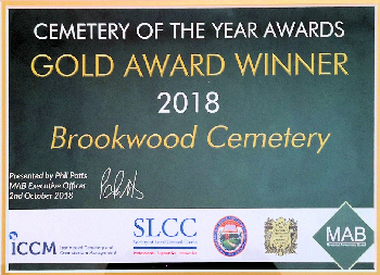 Brookwood Cemetery receives national recognition